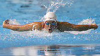 July 18, 2015: Erica Seltenreich-Hodgson of Canada competing in the Women's 200m Individual Medley heat at the CIBC Aquatic Centre during the Toronto 2015 Pan America Games in Canada.
