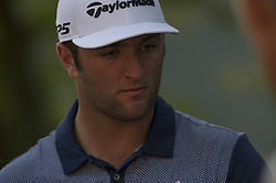 October 13, 2017 - Monza, Italy - Jon Rahm on Spain on Day One of the Italian Open at Golf Club Milano  (Credit Image: © Gaetano Piazzolla/Pacific Press via ZUMA Wire)