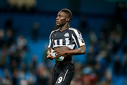 Massadio Haidara of Newcastle United leaves the pitvh after his sides 0-2 win - Photo mandatory by-line: Rogan Thomson/JMP - 07966 386802 - 29/10/2014 - SPORT - FOOTBALL - Manchester, England - Etihad Stadium - Manchester City v Newcastle United - Capital One Cup Fourth Round.