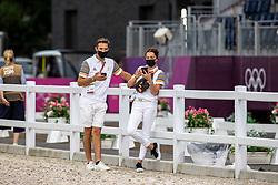 Gaetan Decroix, Patricia Moser<br /> Olympic Games Tokyo 2021<br /> © Hippo Foto - Dirk Caremans<br /> 07/08/2021