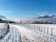 Beautifull winter scene near Lough Lein in Killarney National Park on Christmas Day Picture by Don MacMonagle - macmonagle.com