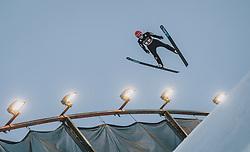 29.02.2020, Salpausselkae Hill, Lahti, FIN, FIS Weltcup Ski Sprung, Herren, Teamspringen, im Bild Stephan Leyhe (GER) // Stephan Leyhe of Germany during the men's team event of FIS Ski Jumping World Cup at the Salpausselkae Hill in Lahti, Finland on 2020/02/29. EXPA Pictures © 2020, PhotoCredit: EXPA/ JFK