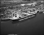 "Ackroyd 17787-2 ""Schnitzer Industries. Aerials of yard. May 10, 1972. Color see C3235"" (NW Portland)"