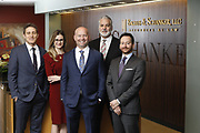 SHOT 1/8/19 12:19:43 PM - Bachus & Schanker LLC lawyers James Olsen, Maaren Johnson, J. Kyle Bachus, Darin Schanker and Andrew Quisenberry in their downtown Denver, Co. offices. The law firm specializes in car accidents, personal injury cases, consumer rights, class action suits and much more. (Photo by Marc Piscotty / © 2018)