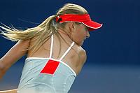 Foto: Dppi/Digitalsport<br /> NORWAY ONLY<br /> <br /> TENNIS - CHINA OPEN 2004 - PEKING (CHN)<br /> 25/09/2004<br /> <br /> <br /> MARIA SHARAPOVA (RUS)