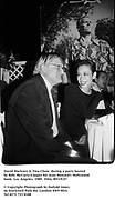 David Hockney & Tina Chow  during a party hosted by Billy McCarty-Cooper for Jean Howard's Hollywood book. Los Angeles. 1989. Film.89319/27<br /><br />© Copyright Photograph by Dafydd Jones<br />66 Stockwell Park Rd. London SW9 0DA<br />Tel 0171 733 0108