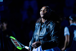 August 29, 2018 - Flushing Meadow, NY, U.S. - FLUSHING MEADOW, NY - AUGUST 29: SERENA WILLIAMS (USA) day three of the 2018 US Open on August 29, 2018, at Billie Jean King National Tennis Center in Flushing Meadow, NY. (Photo by Chaz Niell/Icon Sportswire) (Credit Image: © Chaz Niell/Icon SMI via ZUMA Press)