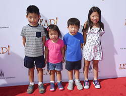 LOS ANGELES, CA - AUGUST 19: Actress Debbie Sherman attends the premiere of The Weinstein Company's 'Leap!' at Pacific Theatres at The Grove Los Angeles on August 19, 2017 in Los Angeles, California. 19 Aug 2017 Pictured: LOS ANGELES, CA - AUGUST 19: The Cheng Kids attend the premiere of The Weinstein Company's 'Leap!' at Pacific Theatres at The Grove Los Angeles on August 19, 2017 in Los Angeles, California. Photo credit: Jeffrey Mayer / MEGA TheMegaAgency.com +1 888 505 6342