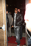 """Jay Z at the cocktail party celebrating Sean """"Diddy"""" Combs appearance on the """" Black on Black """" cover of L'Uomo Vogue's October Music Issue"""