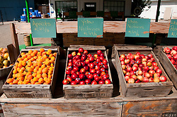 Centreville Fruit Station, Roadside produce stand, Centreville; between Fresno and Kings Canyon; California, USA.  Photo copyright Lee Foster.  Photo # california121572