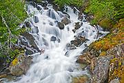 Waterfall<br /> Pemberton<br /> British Columbia<br /> Canada