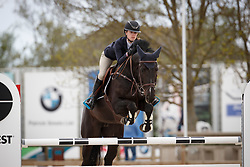 Malisart Lies, BEL, Javeline de Champenotte Z<br /> Grand Prix CSI -CH Azelhof - Lier 2017<br /> © Hippo Foto - Dirk Caremans<br /> 16/04/17