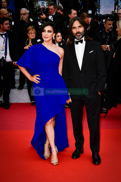 """""""A Hidden Life (Une Vie Cachée)"""" Red Carpet - The 72nd Annual Cannes Film Festival. 19 May 2019 Pictured: Nadine Labaki and Khaled Mouzanar. Photo credit: Daniele Cifalà / MEGA TheMegaAgency.com +1 888 505 6342"""