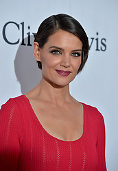 Katie Holmes attends the Clive Davis and Recording Academy Pre-GRAMMY Gala and GRAMMY Salute to Industry Icons Honoring Jay-Z on January 27, 2018 in New York City.. Photo by Lionel Hahn/ABACAPRESS.COM