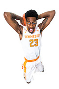 KNOXVILLE,TN - JULY 28, 2016 - Guard Jordan Bowden #23 of the Tennessee Volunteers Men's Basketball photo day at the Anderson Training Center in Knoxville, TN. Photo By Craig Bisacre/Tennessee Athletics