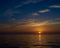 Sunrise over the Atlantic Ocean from the deck of the MV Explorer. Image taken with a Leica X2 camera.