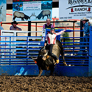 Joe Davis on Red Eye Rodeo bull Cash N Go at the Darby Broncs N Bulls event Sept 7th 2019.  Photo by Josh Homer/Burning Ember Photography.  Photo credit must be given on all uses.