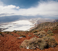 Panorama from Dante's View, Death Valley National Park. Composite of 4 images taken with a Nikon D3x and 24 mm PC-E lens (ISO 100, 24 mm, f/16, 1/100 sec). Panorama created using  PTGui.