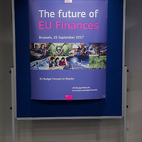 "Brussels, Belgium - 25 September 2017 <br /> ""The Future of Finances"" conference.<br /> Photo: European Commission / Ezequiel Scagnetti"