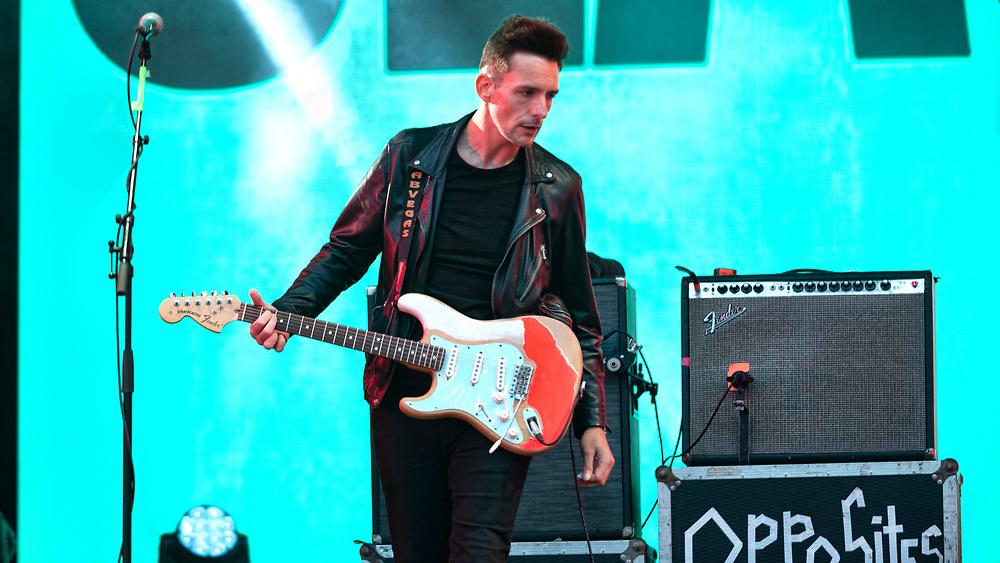 Glasvegas make a return to the festival scene at Glasgow's Playground Festival 2021 at Rouken Glen Country Park, Glasgow