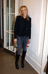 KIM HERSOV at 'A Night at Crumbland' an evening to celebrate the launch of the Stella McCartnry and Robert Crumb collaboration aand the publication of the R.Crumb handbook, held at Stella McCartney, 30 Bruton Street, London W1 on 17th March 2005.<br /><br />NON EXCLUSIVE - WORLD RIGHTS