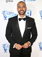 Marvin Humes, Global's Make Some Noise Night in London, Finsbury Square Marquee, London UK, 20 November 2018