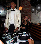 Nick Cannon and Mariah Carey..Nick Cannon 30th Birthday Party..Lavo Restaurant..New York, NY, USA..Friday, October 08, 2010..Photo ByiSnaper.com/ CelebrityVibe.com..To license this image please call (212) 410 5354; or Email:CelebrityVibe@gmail.com ;.website: www.CelebrityVibe.com.