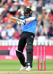 Sussex Sharks' David Wiese bats during the Vitality T20 Blast Semi Final match on Finals Day at Edgbaston, Birmingham.