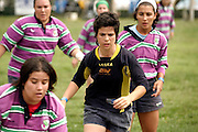 The appearance of female rugby players use to be less feminine than nowadays but  in some positions of the field still remain the idea of having heavier and male-looking players.