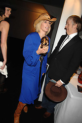 ZARA PHILLIPS at the London Red Cross Ball themed 'Honky Tonk Blues' held at 99 Upper Ground, London SE1 on 21st November 2007.<br /><br />NON EXCLUSIVE - WORLD RIGHTS