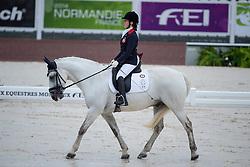 Lee Sophie Milner, (HKG), The Silver Surfer - Team Competition Grade Ib Para Dressage - Alltech FEI World Equestrian Games™ 2014 - Normandy, France.<br /> © Hippo Foto Team - Jon Stroud <br /> 25/06/14
