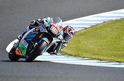 October 26, 2018 - Melbourne, Victoria, Australia - French rider Fabio Quartaroro (#20) of Boost - Speed Up Racing in action during day 2 of the 2018 Australian MotoGP held at Phillip Island, Australia. (Credit Image: © Theo Karanikos/ZUMA Wire)