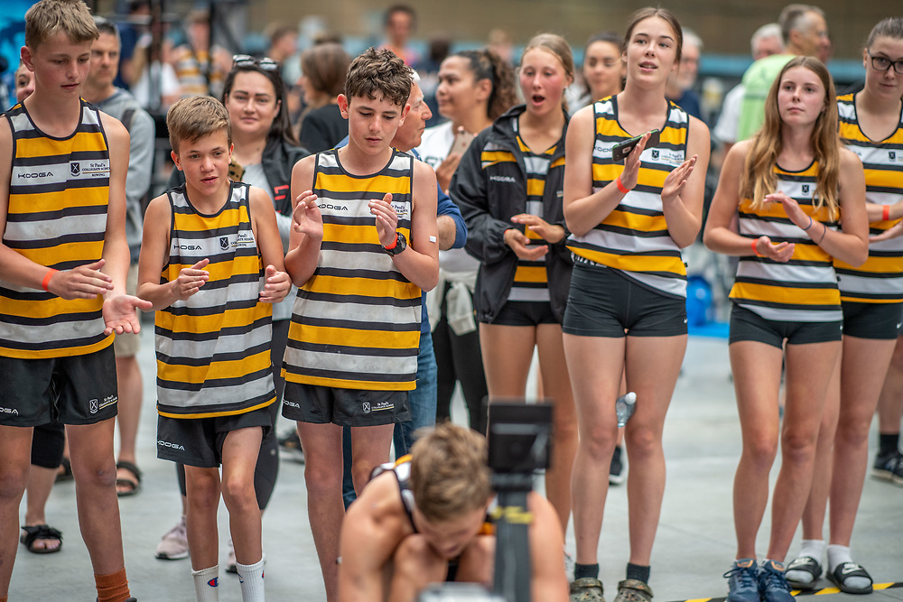 9:58 AM- Perry Group #8- Women?s & Men?s 2000m U19, Open, U23, Masters A, U14, U15<br /> <br /> NZ Indoor Champs, raced at Avanti Drome, Cambridge, New Zealand, Saturday 23rd November 2019 © Copyright Steve McArthur / @rowingcelebration www.rowingcelebration.com