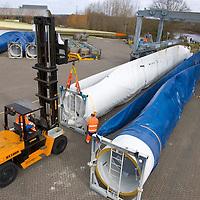 Wind Farm, Vestas, Windturbine Manufacturers, Newport, Isle of Wight, England, UK