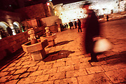 Jerusalem, the Western Wall is the heart of Israeli religious activity and is divided into two parts: the first dedicated to the prayer of men and the other of women, each of the parts is forbidden to the other sex.<br /> <br /> Jerusalem, January 2004<br /> <br /> <br /> Photo: Antonietta Baldassarre