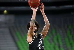Perkins  Joshua of Partizan NIS during basketball match between KK Partizan NIS Belgrade (SRB) and Boulogne Metropolitans 92 (FRA) in Top 16 Round 6 of 7DAYS Eurocup 2020/21, on March 10, 2021 in Arena Stozice, Ljubljana, Slovenia. Photo by Vid Ponikvar / Sportida