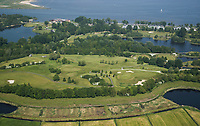 NAARDEN . Luchtfoto Golfbaan Naarderbos.     COPYRIGHT  KOEN SUYK