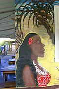 Mural, Hanalei, Kauai<br />