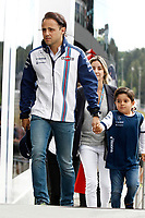 MASSA felipe (bra) and wife rafaela and son Felipinho williams f1 mercedes fw37 ambiance portrait during the 2015 Formula One World Championship, Grand Prix of Austria from june 18 to 22nd 2015,  in Spielberg, Austria. Photo DPPI