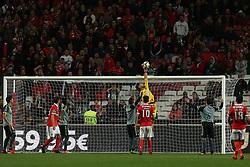 November 26, 2017 - Lisbon, Lisbon, Portugal - Setubals goalkeeper Cristiano during the Premier League 2017/18 match between SL Benfica and FC Vitoria Setubal, at Luz Stadium in Lisbon on November 26, 2017. (Credit Image: © Dpi/NurPhoto via ZUMA Press)