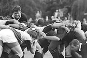 Twickenham, Great Britain,   Harlequins vs London Wasps, Steve BATES, watching over the scrum, The Stoop Stadium, Twickenham, ENGLAND. Saturday    <br /> <br /> [Mandatory Credit; Peter Spurrier/Intersport-images]