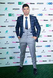Pink News Awards 2019 <br /> At Church House, London, Great Britain <br /> 16th October 2019 <br /> <br /> Anton Danyluk<br /> (From Love Island) <br />  <br /> <br /> Photograph by Elliott Franks