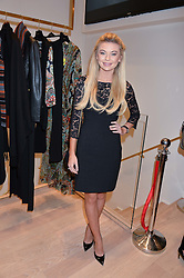 GEORGIA TOFFOLO at the launch of the Luisa Spagnoli Flagship store at 171 Piccadilly, London on 13th October 2016.