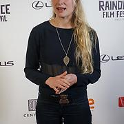 London, England, UK. 25th September 2017. Yori Swart is a Singer of Isolani movie attend Raindance Film Festival Screening at Vue Leicester Square, London, UK