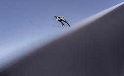 28.02.2019, Seefeld, AUT, FIS Weltmeisterschaften Ski Nordisch, Seefeld 2019, Skisprung, Herren, Qualifikation, im Bild Junshiro Kobayashi (JPN) // Junshiro Kobayashi of Japan during his Qualification Jump of men's Skijumping of FIS Nordic Ski World Championships 2019. Seefeld, Austria on 2019/02/28. EXPA Pictures © 2019, PhotoCredit: EXPA/ JFK