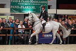Vrieling Jur (NED) - Indorado<br /> KWPN Hengstenkeuring 's Hertogenbosch 2010<br /> © Dirk Caremans