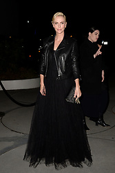 November 14, 2019, New York, NY, USA: November 14, 2019  New York City..Charlize Theron arriving to the Dior event at the Guggenheim Museum on November 14, 2019 in New York City. (Credit Image: © Kristin Callahan/Ace Pictures via ZUMA Press)