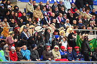 Supporters France - 15.03.2015 - Rugby - Italie / France - Tournoi des VI Nations -Rome<br /> Photo : David Winter / Icon Sport