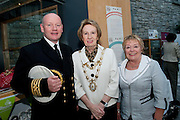 Galway launches 200 Gatherings ! Come home to Irelands Cultural Heart  with help of Galway Harbour Master Captain Brian Sheridan Galway City Mayor Terry O Flaherty and  Carmel Brennan Galway Sea Festival  at Aras An Contae. Picture Andrew Downes.