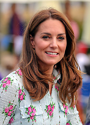 The Duchess Of Cambridge during a visit to the 'Back To Nature' Festival at RHS Garden Wisley, in Woking, Surrey.